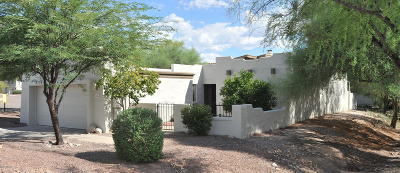Tucson Townhouse For Sale: 7458 E Wandering Road