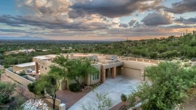 Tucson Single Family Home For Sale: 5521 N Sabino Highlands Place