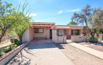 Tucson Townhouse For Sale: 1969 W Dominy Road
