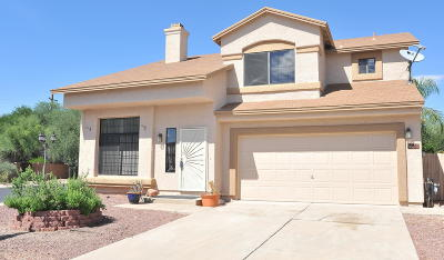 Tucson Single Family Home Active Contingent: 3060 W Country Hill Drive