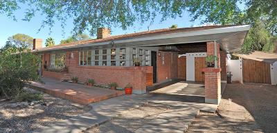 Tucson Single Family Home Active Contingent: 3416 E Edgemont Street