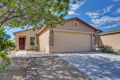 Sahuarita Single Family Home Active Contingent: 1051 W Calle Del Libro Dorado