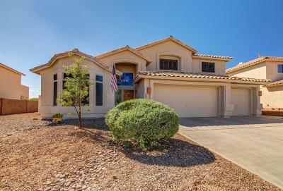 Oro Valley Single Family Home Active Contingent: 12411 N Echo Valley Drive