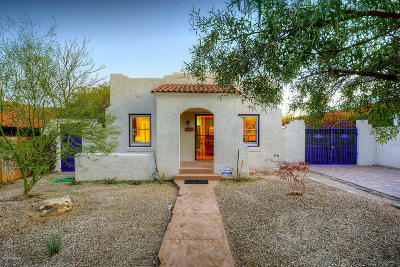 Tucson Single Family Home For Sale: 2239 E 5th Street