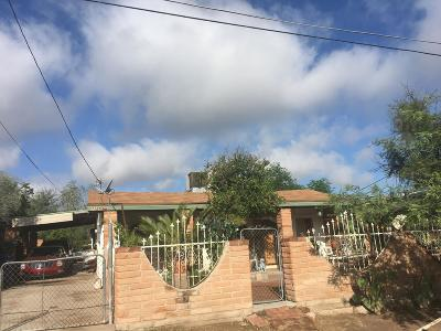 Tucson Single Family Home For Sale: 1125 N Yucca Street