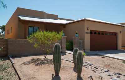 Tucson Single Family Home For Sale: 10370 E Vail Trap Spring Court