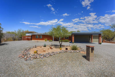 Tucson Single Family Home For Sale: 1000 W Camino Desierto