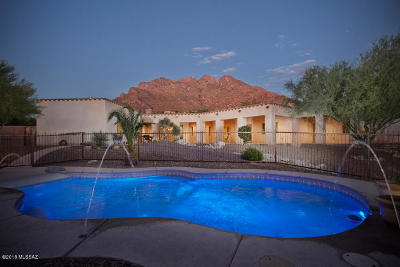 Oro Valley Single Family Home Active Contingent: 8755 Sunny Slope Drive
