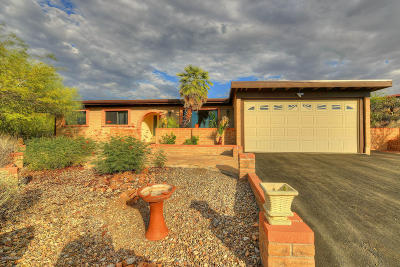 Tucson Single Family Home For Sale: 5960 N Camino Esquina