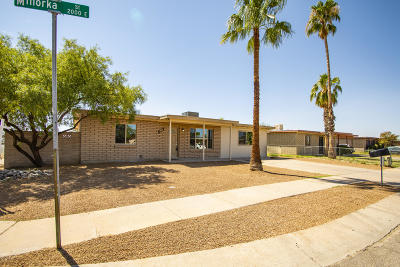 Tucson Single Family Home For Sale: 1956 E Minorka Street