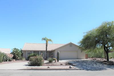 Tucson Single Family Home For Sale: 2150 N Saddlewood Ranch Drive
