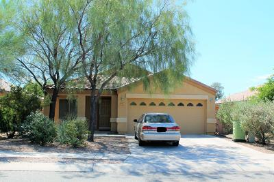 Tucson Single Family Home Active Contingent: 2399 W Golden Hills Road