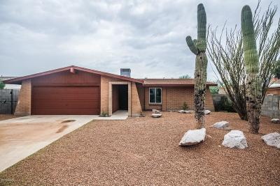 Tucson Single Family Home For Sale: 3602 S Sarnoff Drive