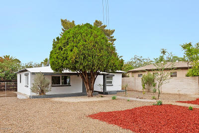 Tucson Single Family Home For Sale: 4419 E Fairmount Street