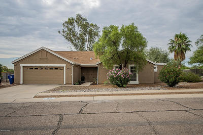 Tucson Single Family Home For Sale: 2821 W Calle Gardenias