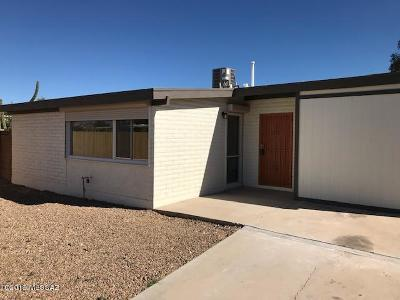 Tucson Single Family Home For Sale: 3351 S Myrtis Place