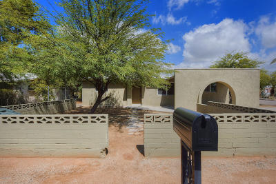 Tucson Single Family Home For Sale: 4151 E Spring Street