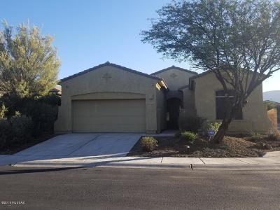 Tucson Single Family Home Active Contingent: 7841 W Sage Creek Court