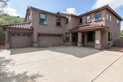 Tucson Single Family Home For Sale: 7758 E Black Crest Place
