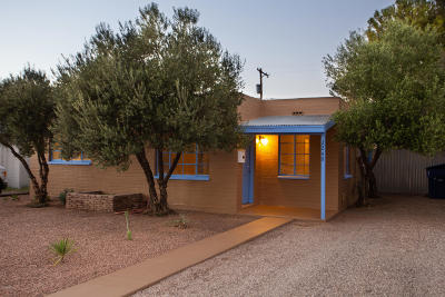 Tucson Single Family Home For Sale: 2249 E Eastland Street
