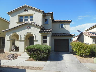 Tucson Single Family Home For Sale: 7621 E Valley Overlook Drive
