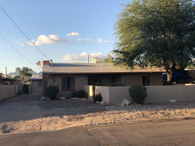 Tucson Single Family Home Active Contingent: 2831-2833 E Edison Street