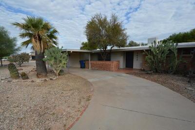 Tucson Single Family Home For Sale: 7411 E Montecito Drive