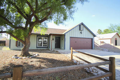 Tucson AZ Single Family Home For Sale: $169,000