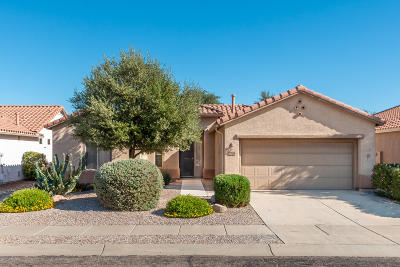 Tucson Single Family Home Active Contingent: 7708 W Wildflower Crest Way