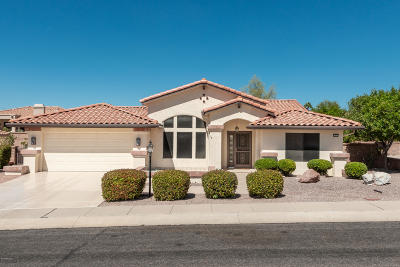 Oro Valley Single Family Home Active Contingent: 1619 E Chisholm Lane