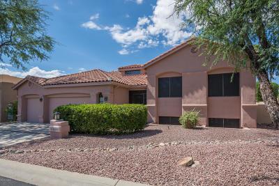 Tucson Single Family Home Active Contingent: 10841 N La Quinta Drive