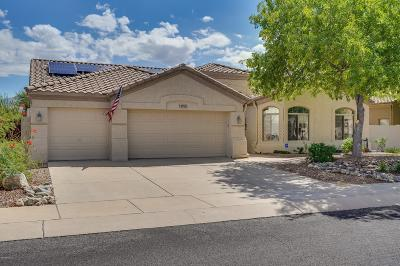 Oro Valley Single Family Home Active Contingent: 12958 N Whitlock Canyon Drive