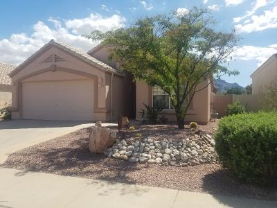 Tucson Single Family Home Active Contingent: 1340 E Dejerine Place