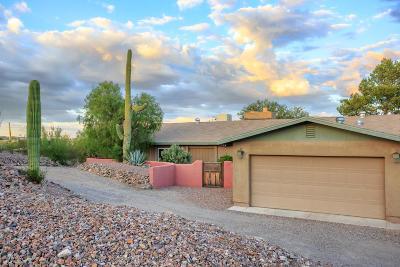 Tucson Single Family Home Active Contingent: 4684 N Camino De La Codorniz