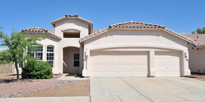 Tucson Single Family Home Active Contingent: 2660 W Nature Point Court