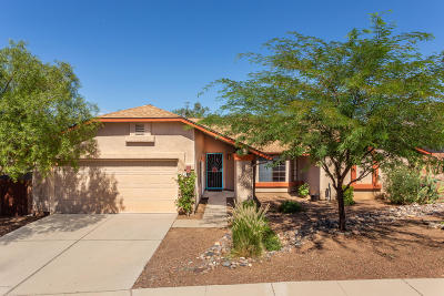 Tucson Single Family Home Active Contingent: 1416 W Canyon Shadows Lane