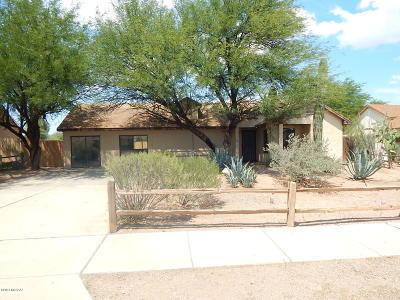 Tucson Single Family Home For Sale: 3402 W Avenida Obregon