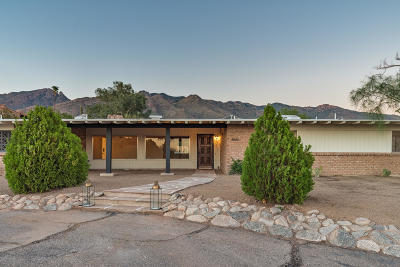 Tucson Single Family Home For Sale: 4861 E Camino La Brinca