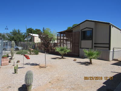 Pima County Manufactured Home For Sale: 4152 N Nidito Place