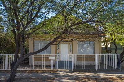 Pima County Single Family Home For Sale: 428 E 9th Street