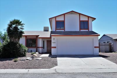 Tucson Single Family Home Active Contingent: 2571 W Fanbrook Road