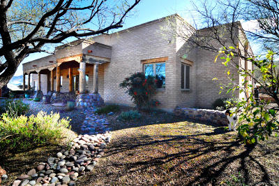 Patagonia Single Family Home Active Contingent: 12 Mesa Trail