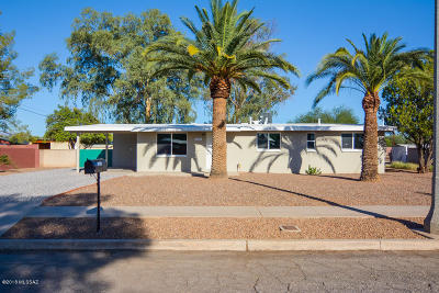 Tucson Single Family Home For Sale: 1826 N Nancy Rose Boulevard