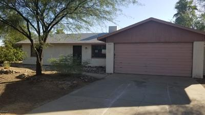 Tucson Single Family Home For Sale: 3115 W Calle Toronja