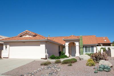 Saddlebrooke Single Family Home Active Contingent: 65530 E Canyon Drive