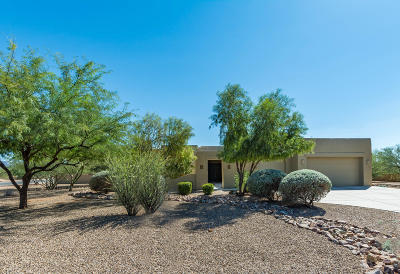 Tucson Single Family Home Active Contingent: 13099 W Butter Bush Street