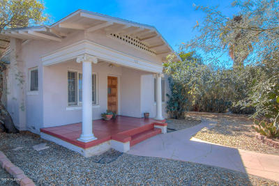 Tucson Single Family Home For Sale: 122 E 2nd Street