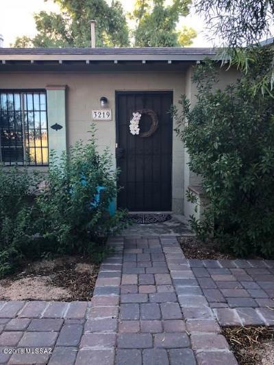 Single Family Home For Sale: 3219 N Tucson Boulevard