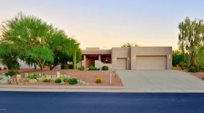 Oro Valley Single Family Home For Sale: 13812 N Javelina Springs Place