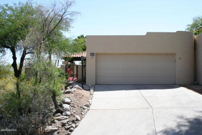 Tucson Townhouse For Sale: 5664 E Pso De La Tirada